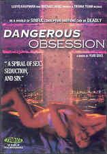 Dangerous Obsession (1989) DVD Troma aka Mortal Sins Yuri Sivo