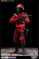 "Crimson Guard G.I. Joe 12"" inch figure by Sideshow Collectibles Used JC"