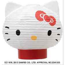 Hello Kitty LED Lantern ( Chochin) Japanese Stand Table lamp from Japan NEW F/S