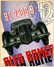 Classic Alfa Romeo Advertisement A3 Poster Reprint