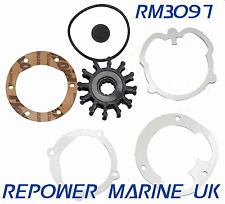 Impeller & Gaskets Replaces Volvo Penta #: 3862281, 21951346, 875811, 21951348