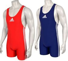 2 Pack Adidas PB Wrestling Suit Men Herren Ringer Anzug DOPPELPACK fila rot/blau