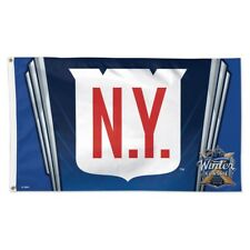 New York Rangers 2018 Winter Classic Citi Field 3'X5' Deluxe Flag New