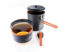 GSI Outdoors Pinnacle Soloist Cookset Kit! Camping Camp Cook Backpacking Pot