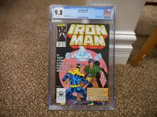 Iron Man 220 cgc 9.8 2nd appearance of Ghost Ant Man Wasp movie 1st series MINT