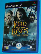 The Lord of the Rings - The Two Towers - Sony Playstation 2 PS2 - PAL