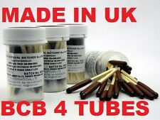 BCB BRITISH ARMY 4X TUBES WATERPROOF WINDPROOF 100 MATCHES SURVIVAL CAMP FIRE TA