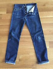 A.P.C. APC Mens NEW STANDARD Selvedge Denim Jeans Size 28 30 x 31 $185 FADES