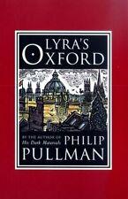 Philip Pullman Lyra's Oxford Signed 1st UK