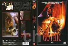 Gothic (1986) - Ken Russell, Gabriel Byrne, Julian Sands  DVD NEW
