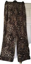 LOLLYS LAUNDRY Leopard Trousers Pants Size L