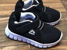 0bee5041ee6 REEBOK Toddler Baby Jason T Black Mesh Girls Boy Athletic Shoes Sz 5