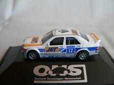 HERPA MERCEDES BENZ 190E DTM 1990 #17 JÖRG VAN OMMEN MS-JET-RACING, NEU + OVP