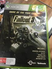 fallout 3 GOTY xbox 360 game of the year