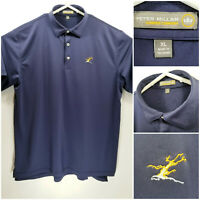 Peter Millar Summer Comfort Mens XL Golf Polo Purple