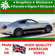 "8.5"" Racing Stripe Vinyl Decal Sticker Car Truck Auto Rally Graphic TQ_5_8.5"