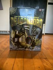 Mighty Morphin Power Rangers Limited Black Edition Legacy Dragonzord