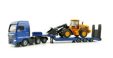 Siku 1790 - Man Tgx Xxl Truck with Low Loader and Jcb 457 Loader 1:87 New 2020
