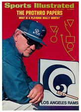 July 24, 1972 Tommy Prothro Los Angeles L.A. Rams Sports Illustrated NO LABEL