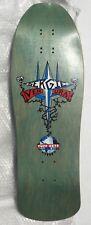 1990 TUFF SKTS Sergie Ventura Trident NOS Vintage Skateboard Deck New Old Stock