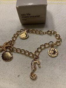 Avon Sea Life Charm Bracelet-large