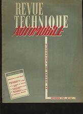 (C3B)REVUE TECHNIQUE AUTOMOBILE LAND ROVER et Moteur ROVER 60 / PEUGEOT 203