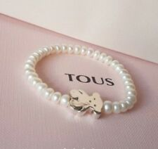 35cedaeea122 Original TOUS Bear Sweet Dolls Bracelet From Silver and Pearls