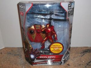 Iron Man 2 Channel Flying Figure Infrared Helicopter, Marvel, Avengers Ultron