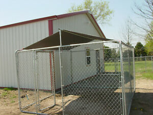 dog kennel shade cover for chain link 6 x10 kennel