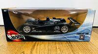 HOT WHEELS CADILLAC LMP CAR Black Le Mans Prototype Die Cast 1:18 2000 #54572