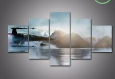 Star Wars X-Wing Water Five Piece Large Framed Canvas Print Home Decor Art