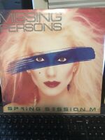 MISSING PERSONS - SPRING SESSION M LP ALBUM - PLAY TESTED VG+