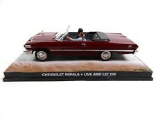 Chevrolet Impala Cabriolet 1963 - James Bond 007 - 1:43 Voiture Car DY054