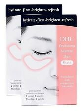 DHC Revitalizing Moisture Strips: Eyes, 2 pack, includes 4 free samples