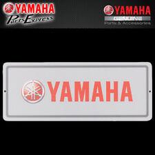 NEW YAMAHA TIN SIGN GREY RED WHITE YAMAHA TUNING FORK LOGO VDF-SL001-PC-TN