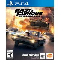 Fast & Furious Crossroads Standard Edition - PlayStation 4 NEW