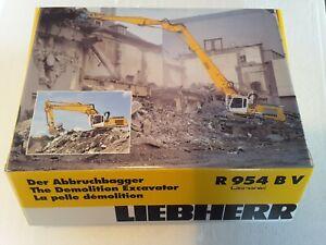 LIEBHERR R 954 BV Abbruchbagger neu mit OVP 1:50