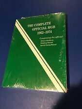 Complete Official MGB 1962-1974 Driver's Handbook Workshop Manual Special Tuning