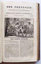 1823 Vol 2 THE PORTFOLIO OF ENTERTAINING AND INSTRUCTIVE VARIETIES Duncombe VGC