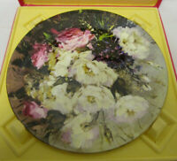 Vintage Royal Doulton 10in Collectors Plate FROM THE POETS GARDEN - Floral
