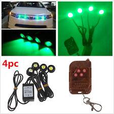 Auto Remote Control Green Hawkeye Emergency Grille Flashing Strobe Waring Lights
