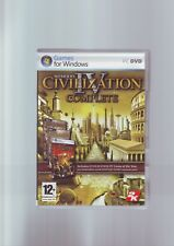SID MEIER'S CIVILIZATION IV COMPLETE inc WARLORDS & BEYOND THE SWORD EXPANSIONS