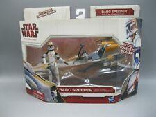 2009 Hasbro Star Wars The Clone Wars Barc Speeder With Clone Commander Cody