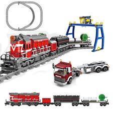 KAZI City / Town - Güterzug mit Antrieb & Terminal (98219) - kompatibel mit LEGO