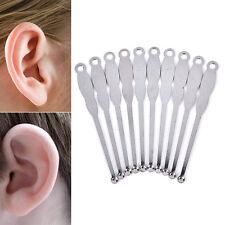 Stainless Steel Ear Pick Curette Wax Earpick Scoop Remover Cleaner Tool