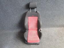 RECARO Sportsitz Beifahrersitz Golf 4 4-türer Bora STOFF Ausstattung schwarz/rot