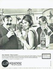 Publicité Advertising 087  1964  Rhum Duquesne le punch photo Le Bihan Moustache