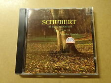 CD / SCHUBERT, PANOCHA QUARTET: STRING QUARTETS NO 12  & 15