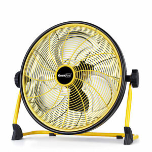 Geek Aire CF2 Outdoor Floor Fan 16 Inch Cordless Variable Speed Rechargeable