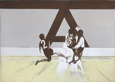 """Dino BOSCHI """"""""A"""""""" , 1966 litografia originale firmata"""